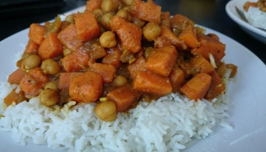 Chickpea and Sweet Potato Curry Recipe
