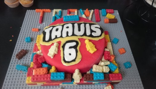 How we made a LEGO Birthday Cake