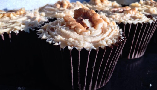 Coffee and Walnut Cupcake Recipe